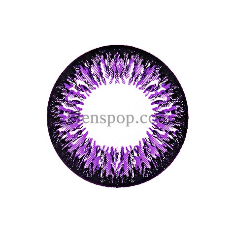 TA204 VIOLET (VS) Graphic Diameter 14.8mmVASSENLENSPOP
