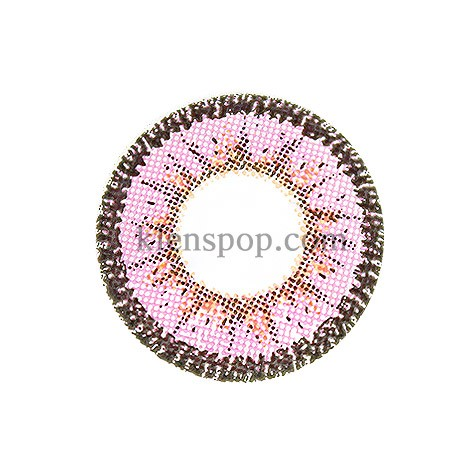 ENVIABLE PINK (BRIANNA) Graphic Diameter 14.6mmLENSPOPLENSPOP