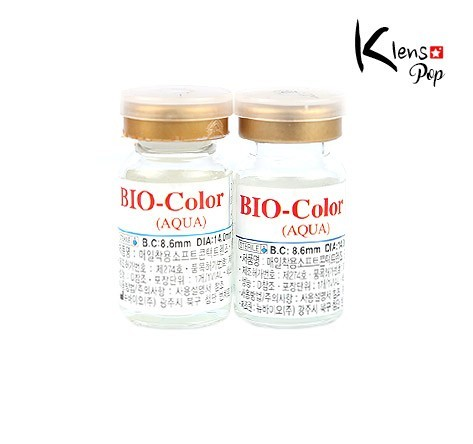 BIO COLOR AQUA (시력교정용투명렌즈)NEW BIOLENSPOP