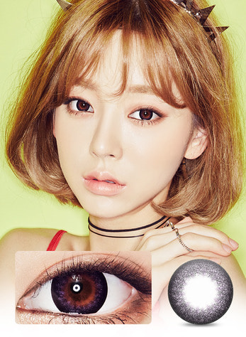 IT GIRL HEIZE VIOLET Graphic Diameter 13.3mmLENS STORYLENSPOP