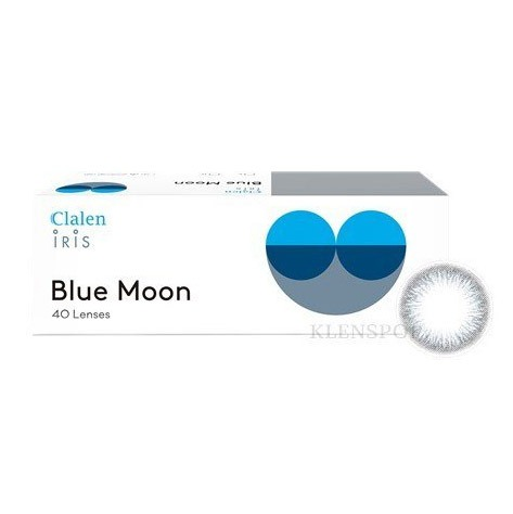 CLALEN IRIS BLUE MOON (30EA+10EA)INTEROJOLENSPOP