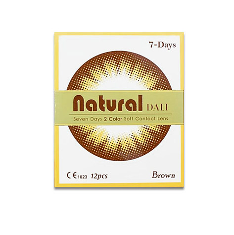Natural Dali Brown (7days)NEO VISIONLENSPOP