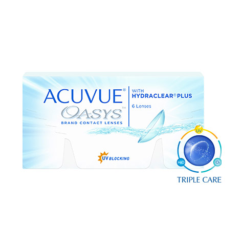 ACUVUE OASYS 2 Weekly (12EA)JOHNSON AND JOHNSONLENSPOP