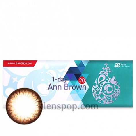 Ann Barbie Brown 1Day (TEST LENS) (2EA)ANNLENSPOP