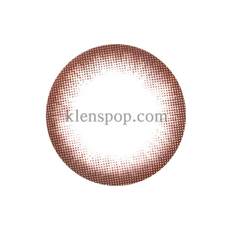MAGIC EYE CHOCOLATE Graphic Diameter 13.5mmPOLYTOUCHLENSPOP