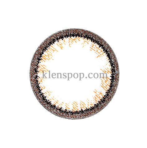RING TWO BROWN  Graphic Diameter 13.5mmM.I CONTACTLENSPOP