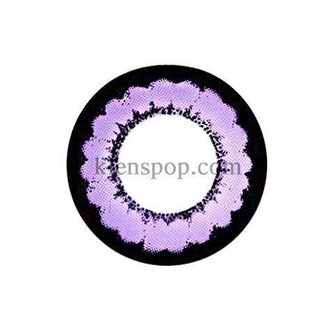 TT 2COLOR PLUS VIOLET Graphic Diameter 13.6mmT.TOP CONTACTLENSPOP