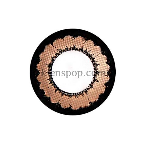 TT 2COLOR PLUS BROWN Graphic Diameter 13.6mmT.TOP CONTACTLENSPOP