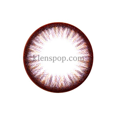 SIO  3 COLOR LIZZY MOCHA Graphic Diameter 13.6mm SILICONE HYDROGEL