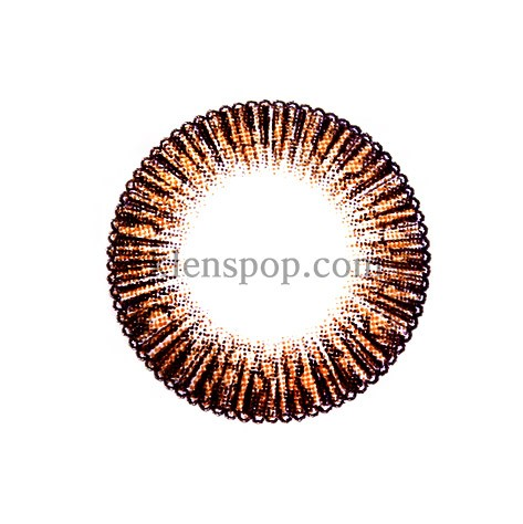 G&G POP-C A27 BROWN Graphic Diameter 13.4mmG.G CONTACTLENSPOP