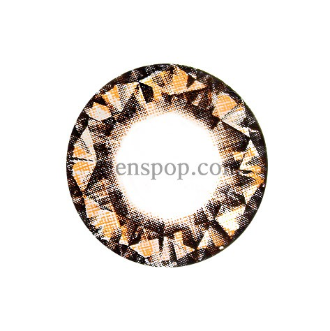 DIAMOND BROWN (VS) Graphic Diameter 14.8mmVASSENLENSPOP