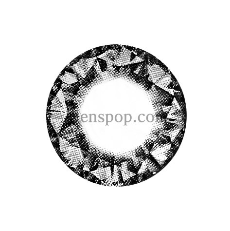 DIAMOND BLACK (VS) Graphic Diameter 14.8mmVASSENLENSPOP