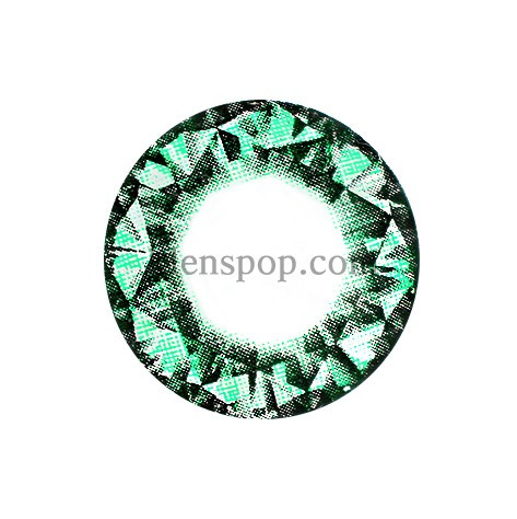 DIAMOND GREEN (VS) Graphic Diameter 14.8mmVASSENLENSPOP