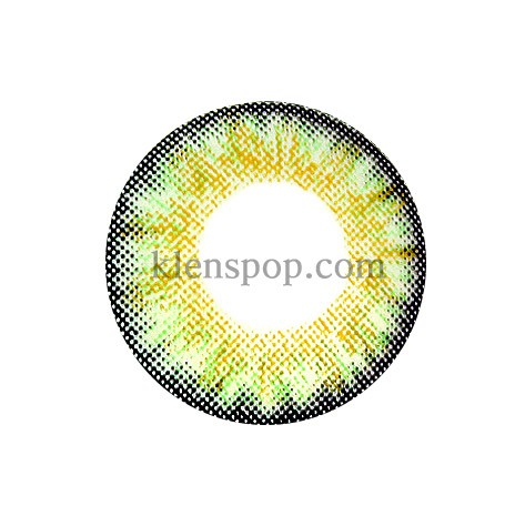 NEO COSMO 3TONE GREEN Graphic Diameter 13.4mmSelf-productionLENSPOP