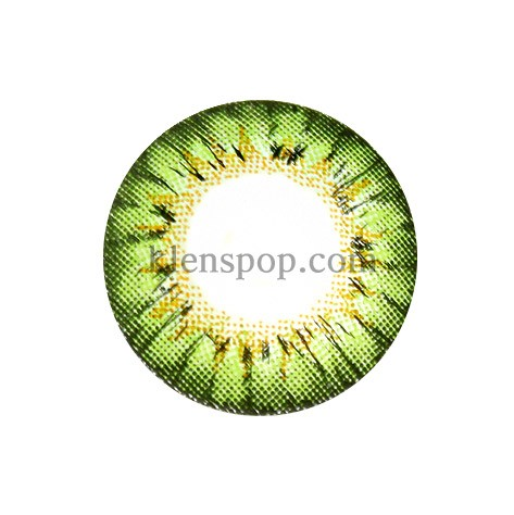 A133 GREEN (BS) Graphic Diameter 14.0mmBSLENSPOP