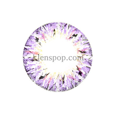 VILLEA VIOLET (BS) Graphic Diameter 14.3mmBSLENSPOP