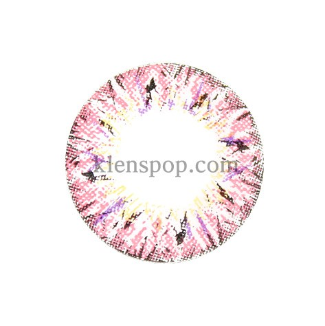 VILLEA PINK (BS) Graphic Diameter 14.3mmBSLENSPOP
