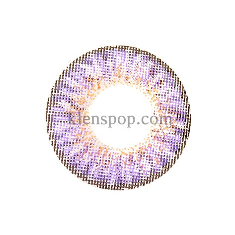 BUNNY 3 COLOR VIOLET Graphic Diameter 13.3mmLENSPOPLENSPOP