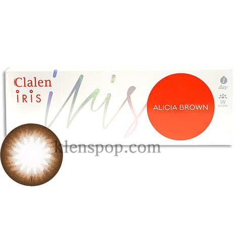 CLALEN ALICIA BROWN (Toric)(30EA)INTEROJOLENSPOP