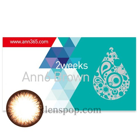 ANN Barbie Brown 2 Weekly (6EA)Graphic Diameter 13.6mmANNLENSPOP