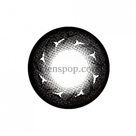 I fax Y33-Black Graphic Diameter 14.0mmG.G CONTACTLENSPOP