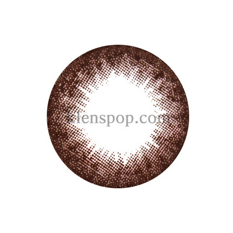 BINGO CHOCO Graphic Diameter 13.9mmM.I CONTACTLENSPOP