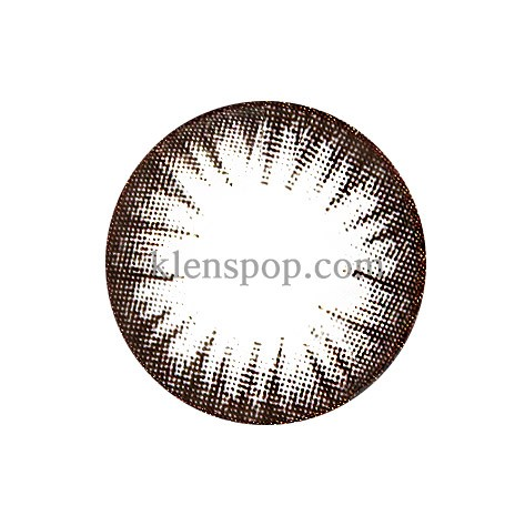 SAY CHOCOLATE Graphic Diameter 13.5mmM.I CONTACTLENSPOP