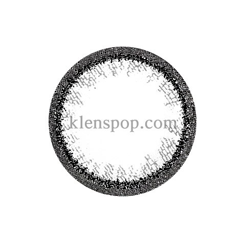 RING TWO GRAY Graphic Diameter 13.5mmM.I CONTACTLENSPOP