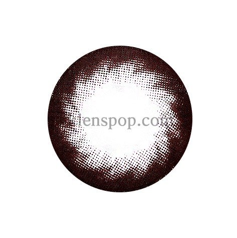 CLEAR COLOR CL 101 BROWN Graphic Diameter 13.3mmMI GWANGLENSPOP