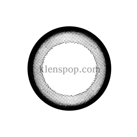 TT BLACK Graphic Diameter 13.6mmT.TOP CONTACTLENSPOP