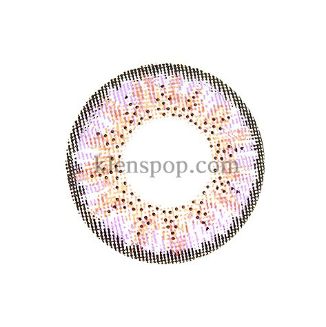 ELLEN 3 COLOR VIOLET Graphic Diameter 13.7mmLENSPOPLENSPOP