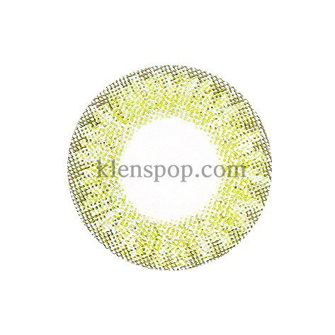 ASHLEY-S GREEN (3COLOR) Graphic Diameter 14mmLENSPOPLENSPOP