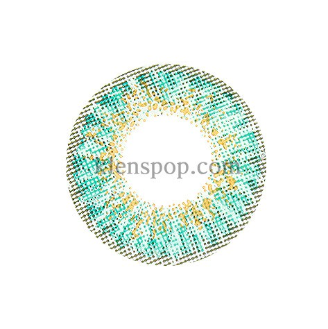 ASHLEY-S TURQUOISE (3COLOR) Graphic Diameter 14mmLENSPOPLENSPOP