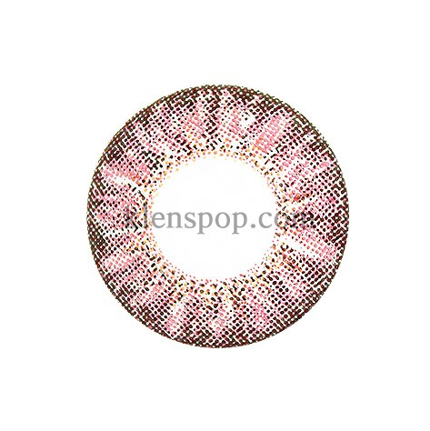HAPPY PINK (BRIANNA) Graphic Diameter 14.6mmLENSPOPLENSPOP