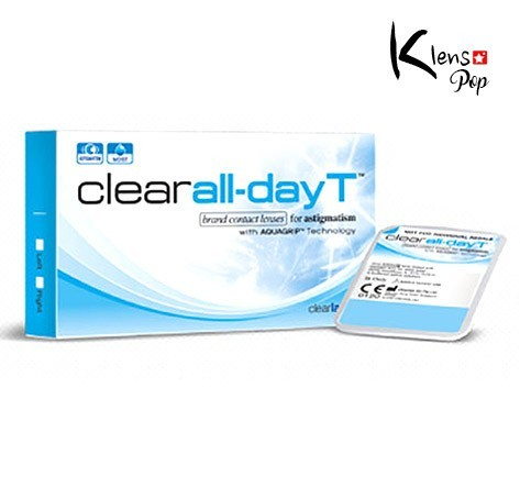 CLEAR ALL DAY-T (6EA) (TORIC LENS) 1MONTHMI GWANGLENSPOP
