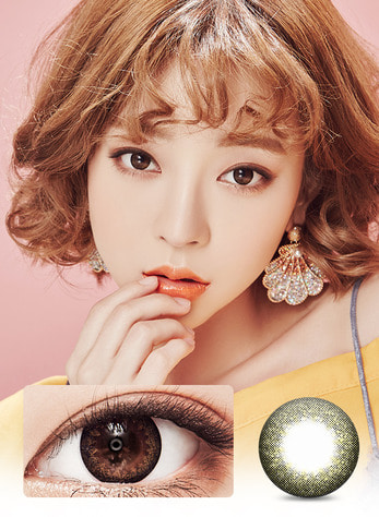 IT GIRL HEIZE BROWN Graphic Diameter 13.3mmLENS STORYLENSPOP