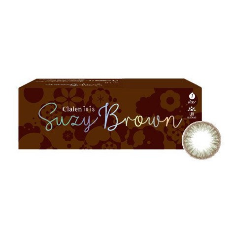 Clalen Suzy Brown (TEST LENS) (2EA)INTEROJOLENSPOP