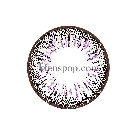 ELLEN PANDA VIOLET (4COLOR) Graphic Diameter 14.5mmLENSPOPLENSPOP