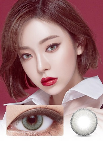 WONDER EYE CIRCLE GRAY (2EA) MONTHLY / 13.0mmLENS STORYLENSPOP