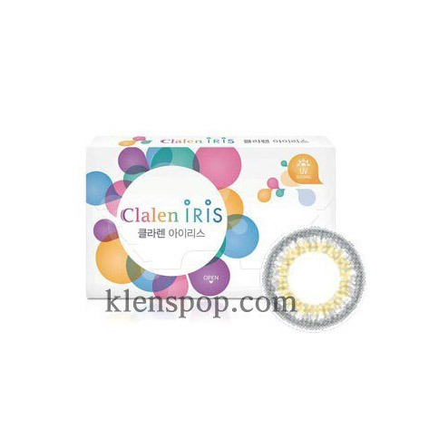 CLALEN IRIS M 3311 SELENA LIGHT GRAY (2EA) MONTHLYINTEROJOLENSPOP
