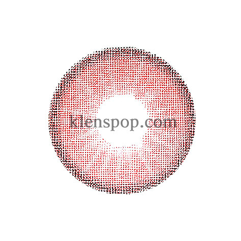 HYBRID EDGE RED Graphic Diameter 13.2mmCI VISIONLENSPOP