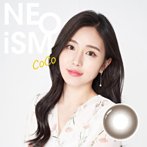 Neo Ism 1Day Coco Brown (50pcs) (Buy 1 Get 1 Free) 1Day G.DIA 13.6mmNEO VISIONLENSPOP