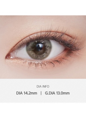 Blush Brown (1EA) (Buy 1 Get 1 Free)  / 3MONTHLY / 13.0mmLENSVERYLENSPOP